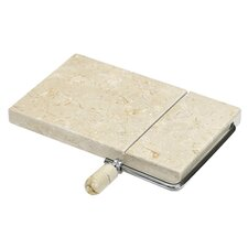 Champagne 21cm Marble Cheese Board in Natural