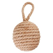 Rope Knot Fabric Wall Fixed Door Stop