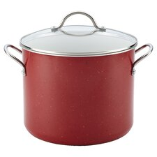 Farberware New Traditions Ceramic Cookware 12 Qt. Stock Pot with Lid