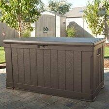 116 Gallon Plastic Deck Box/Storage Bench