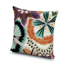 Passiflora Giant Cotton Throw Pillow
