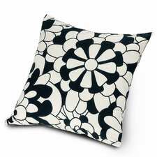 Vevey B&N Cotton Throw Pillow