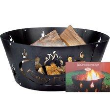 Metal Wood Burning Fire ring