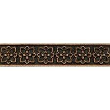 """Ambiance Romanesque Liner 2-1/2"""" x 12"""" Resin Tile in Venetian Bronze"""