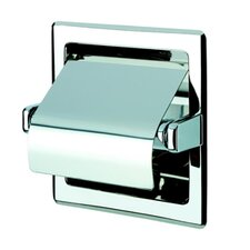 Standard Hotel Recessed Single Toilet Paper Holder with Cover