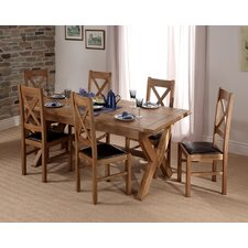 Chateau Extandable Dining Set with 4 Chairs