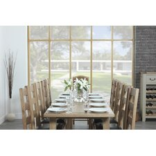 Rustic Manor Extendable Dining Table and 8 Chairs