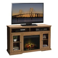 "Colonial Place 59"" TV Stand with Electric Fireplace"