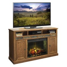 "Oak Creek 62"" TV Stand with Electric Fireplace"