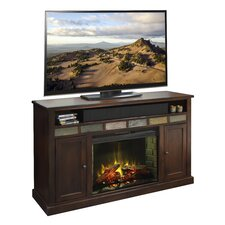 "Fire Creek 62"" TV Stand with Electric Fireplace"