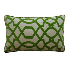 Tangled Cotton Lumbar Pillow