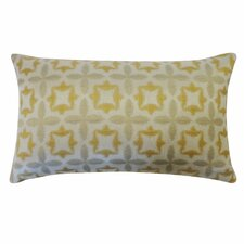 Motif Cotton Lumbar Pillow