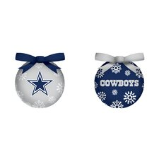 NFL LED Boxed Ornament Set