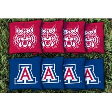 NCAA Replacement Corn Filled Cornhole Bag Set
