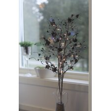 Illuminated Rose Twig 32 Light Lamp
