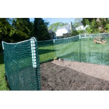 3' x 25' Deluxe Pocket 7 Piece Fence Kit