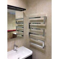 Serpentine Wall Mount Heated Towel Rail