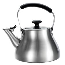 Good Grips 1.7 Quart Stainless Steel Classic Tea Kettle Brushed