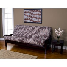 Silhouette Stripe Full Futon Slipcover  by Siscovers