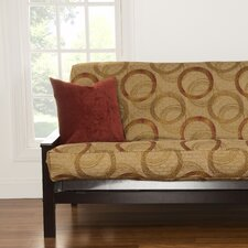 City Lights Full Futon Slipcover  by Siscovers