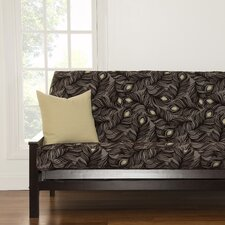 Plush Plumes Full Futon Slipcover  by Siscovers