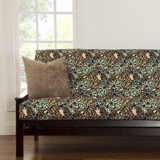 Pressed Leaf Full Futon Cover  by Siscovers