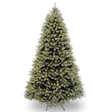 "Downswept Douglas 7"" Green Fir Artificial Christmas Tree and Stand"