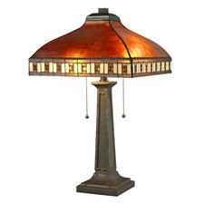 "Crimson 2-Light 24"" Table Lamp"