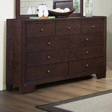 Kari 9 Drawer Standard Dresser