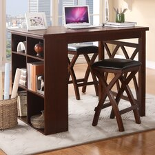 Mably 3 Piece Counter Height Dining Set
