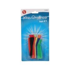 6 Piece Wire Organizer Set (Set of 4)