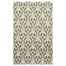 Layla Hand-Tufted Beige/Gray Area Rug