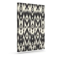 'Tribal Ikat' by Amanda Lane Graphic Art on Wrapped Canvas