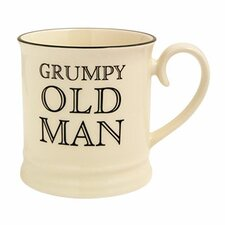 "Quips and Quotes ""Grumpy Old Man"" Tankard Mug"