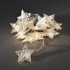 LED-Dekolichterkette Sterne