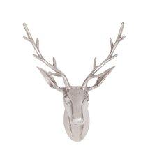 Cool and Beautiful Aluminum Reindeer Head Wall Décor