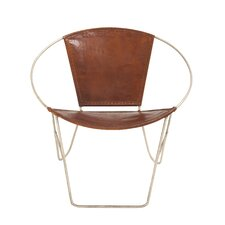 metal papasan arm chair