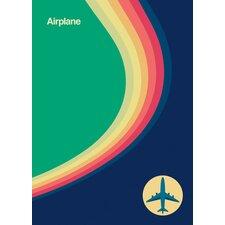 Airplane Transportation Canvas Art
