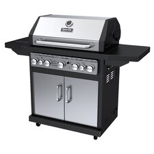 5-Burner Propane Gas Grill with Side Burner