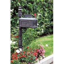 Mailbox with Post Included