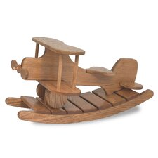 Amish Unique Crafted Airplane Rocker Heirloom Toy