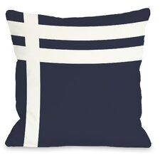 Three Lines Throw Pillow