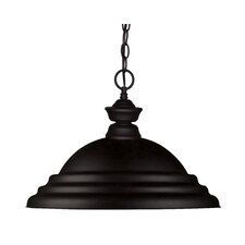 Riviera 1-Light Bowl Pendant