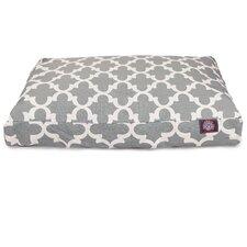 Trellis Rectangular Pillow Pet Bed