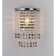 Kheiron 1-Light Crystal Wall Lamp