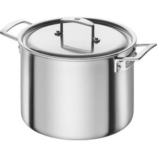 Aurora 5-Ply Stainless Steel 8-Qt. Stockpot