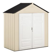 7 ft. W x 3.5 ft. D Plastic Tool Shed