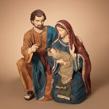 "23"" Resin Holy Family Figurine"