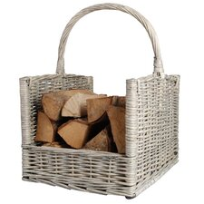 Wicker Esschert's Garden Willow Log Rack