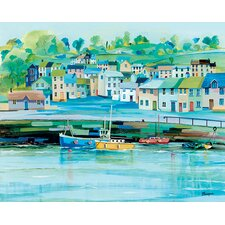 Harbour Colours by Jeremy Thompson Canvas Wall Art